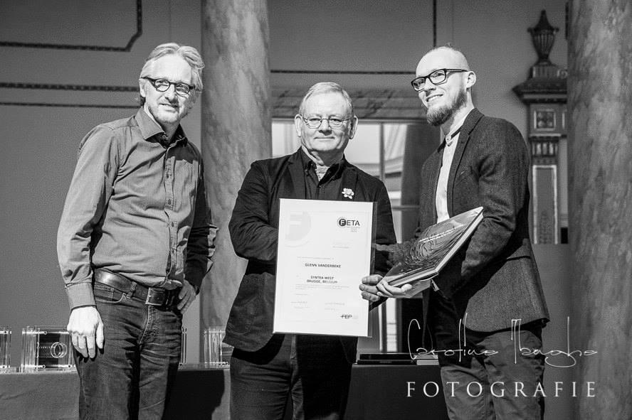 Glenn Vanderbeke - FETA Merit Award © Caroline Tanghe