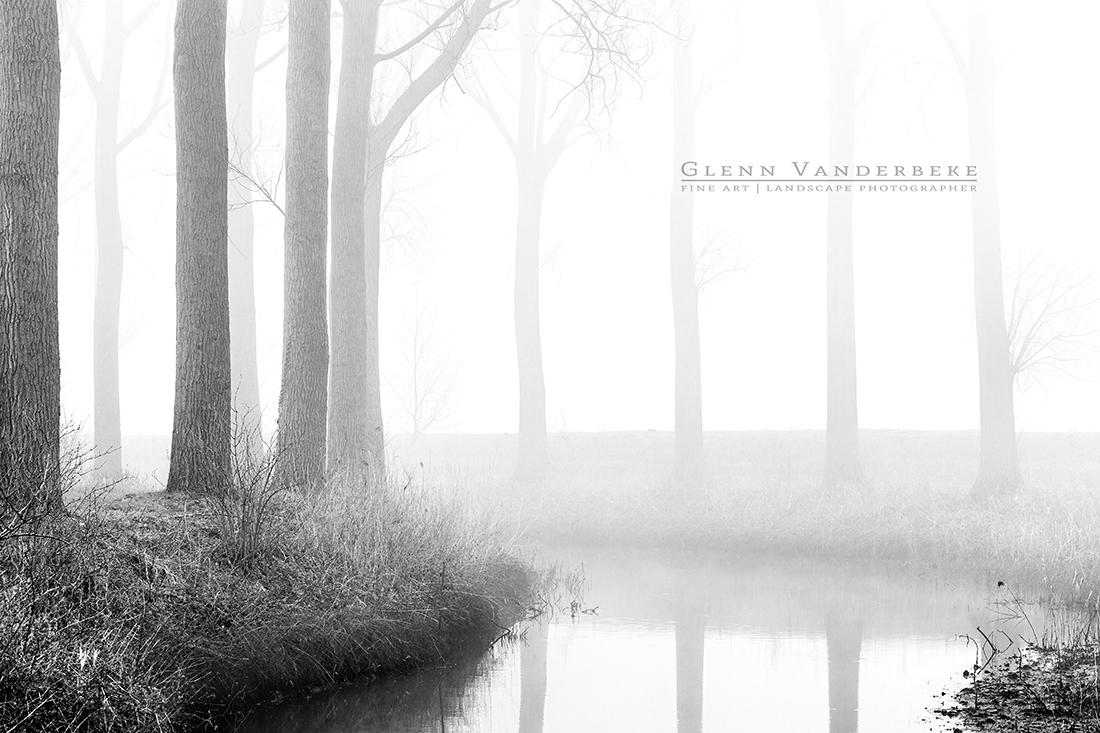 Langs de Damse Vaart, fotografie damse vaart © West-Vlaamse landschapsfotograaf Glenn Vanderbeke