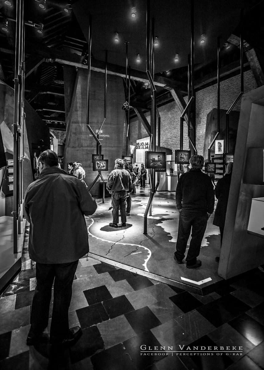 Bezoek aan het museum 'In Flanders Fields' te Ieper © Glenn Vanderbeke