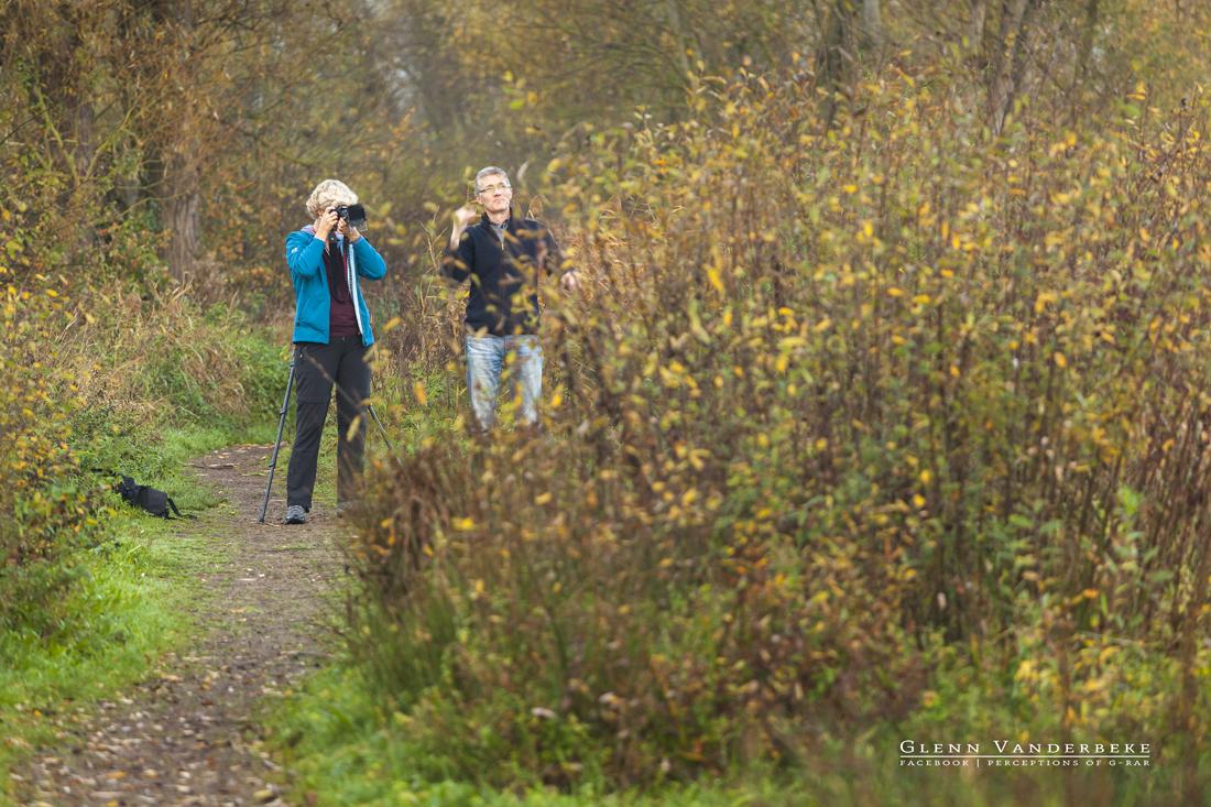 Koen de Langhe tijdens workshop Schulensmeer © West-Vlaamse landschapsfotograaf Glenn Vanderbeke