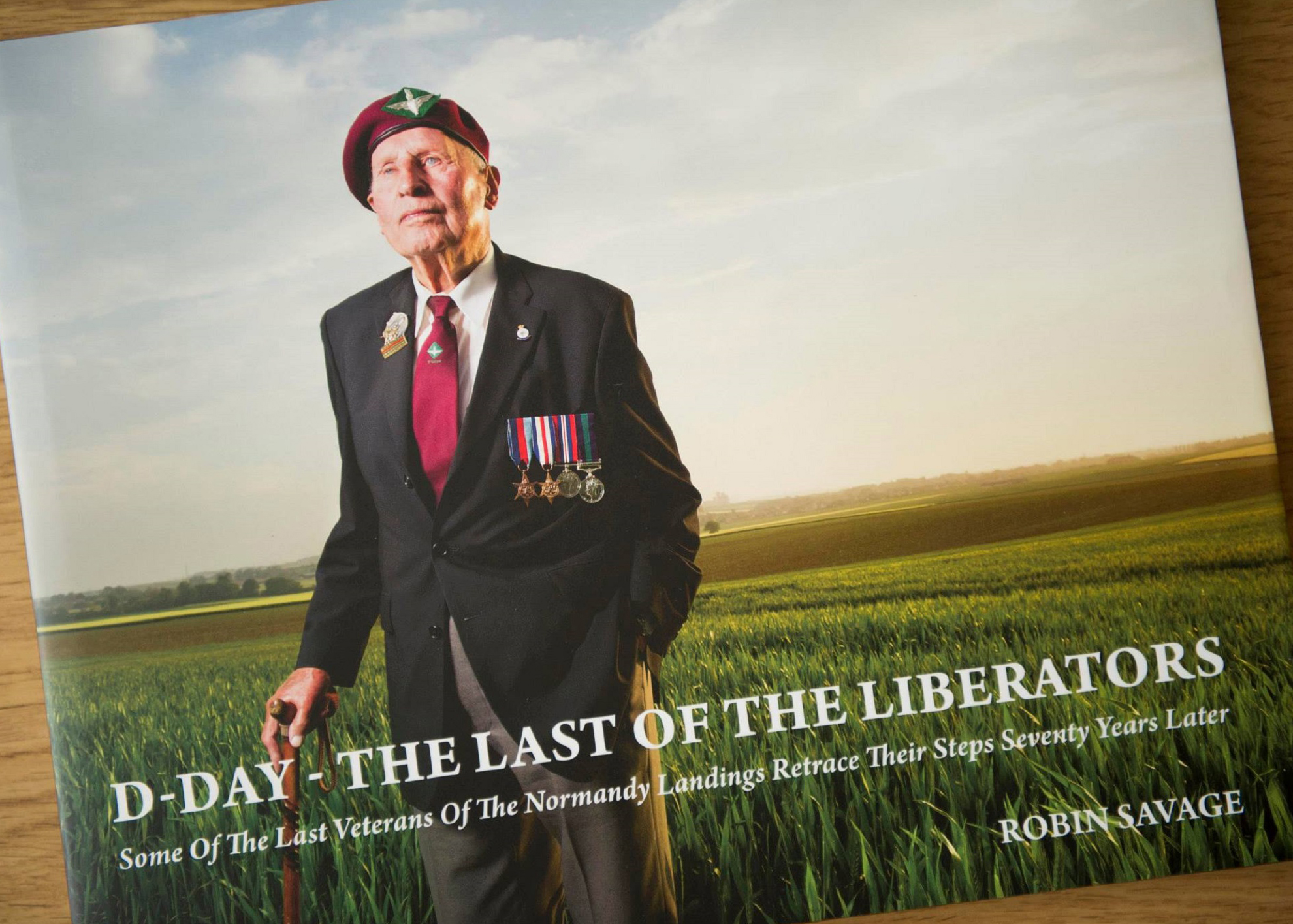 Robin Savage, d-day, the last of the liberators, book review, photography book