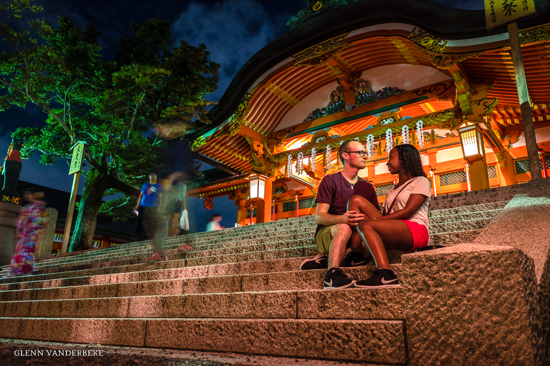 glenn vanderbeke, landschapsfotograaf, reisfotograaf, reisfotografie, japan, Nara, Fushimi Inari Taisha Shrine