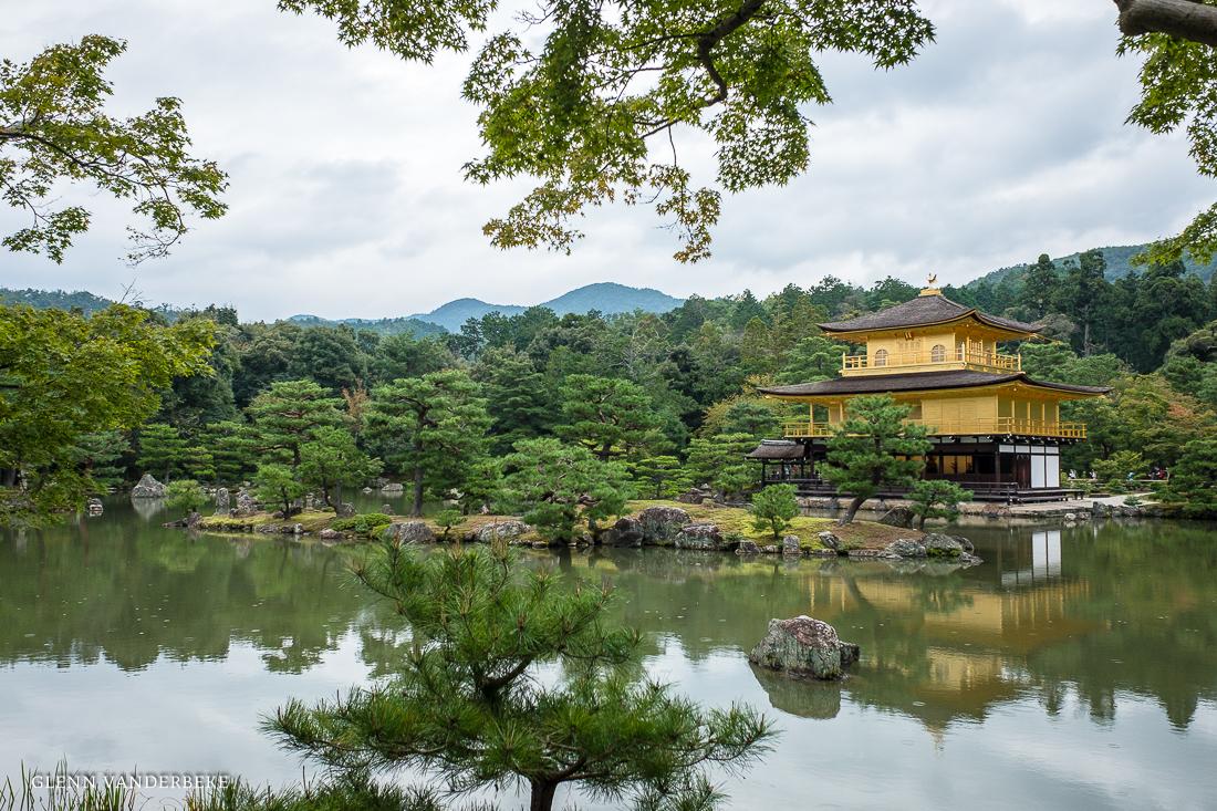 glenn vanderbeke, landschapsfotograaf, reisfotograaf, reisfotografie, japan, Kyoto, Golden Pavilion, Kinkaku-ji