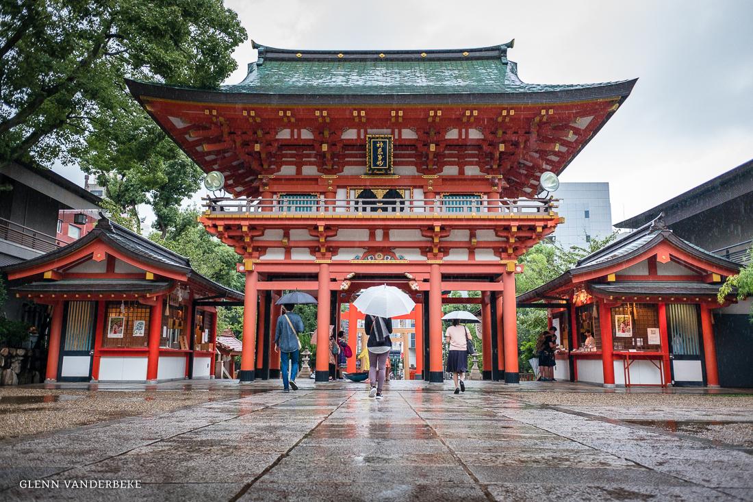 glenn vanderbeke, landschapsfotograaf, reisfotograaf, reisfotografie, japan, Ikuta shrine, Kobe