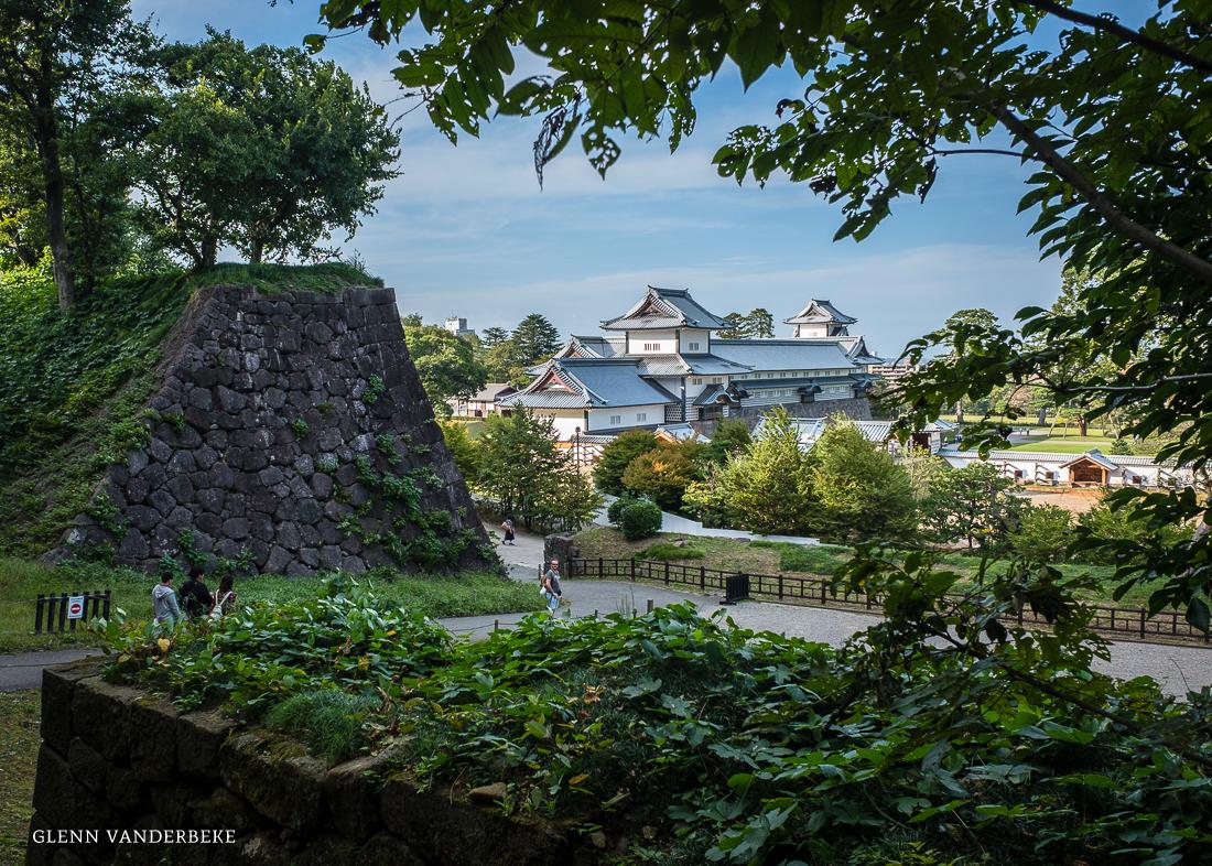 glenn vanderbeke, landschapsfotograaf, reisfotograaf, reisfotografie, japan, Kanazawa Castle, Kanazawa