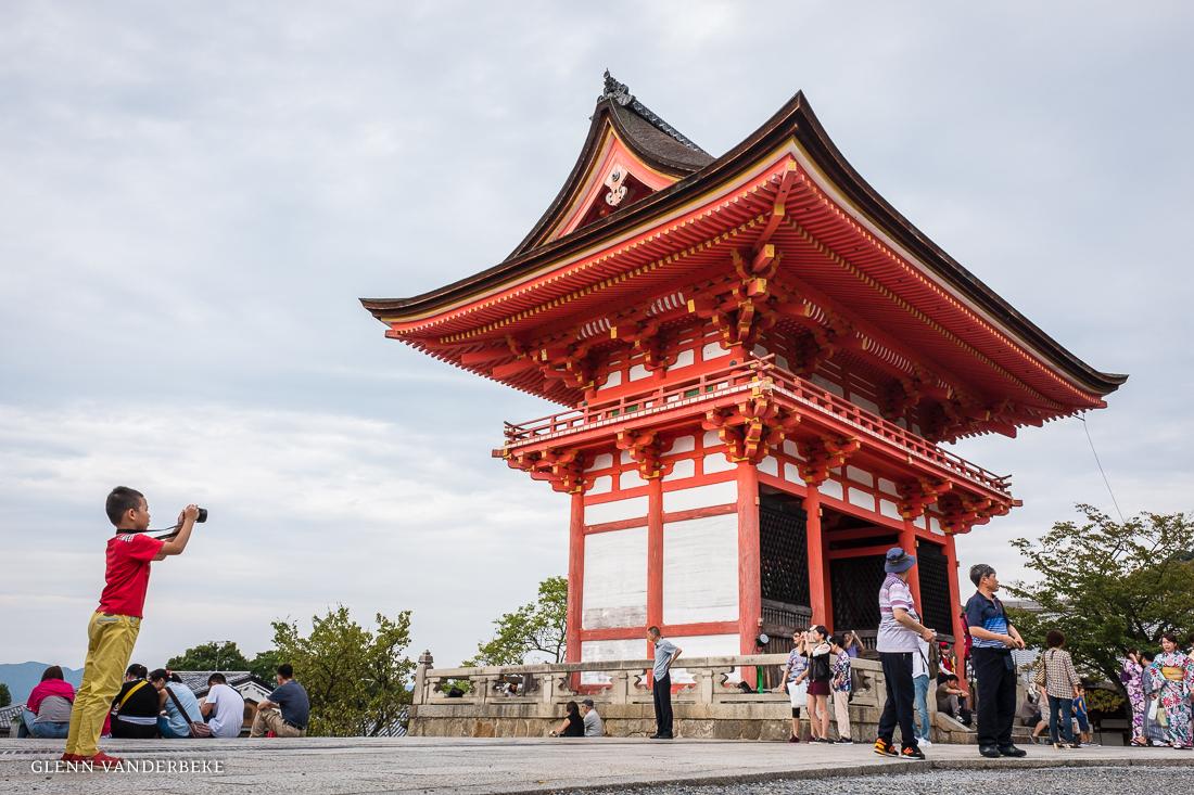 glenn vanderbeke, landschapsfotograaf, reisfotograaf, reisfotografie, japan, Kiyomizu-dera, Kyoto