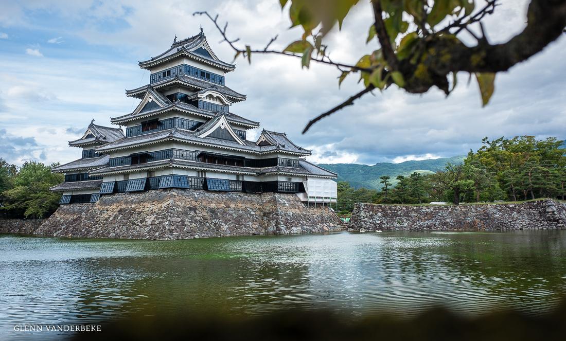 glenn vanderbeke, landschapsfotograaf, reisfotograaf, reisfotografie, japan, Matsumoto Castle, Crow Castle, Matsumoto