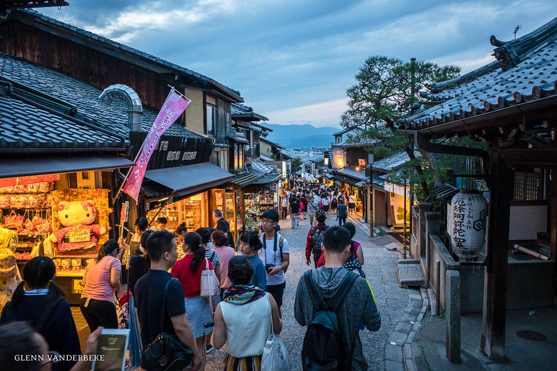 glenn vanderbeke, landschapsfotograaf, reisfotograaf, reisfotografie, japan, kyoto, sannenzaka