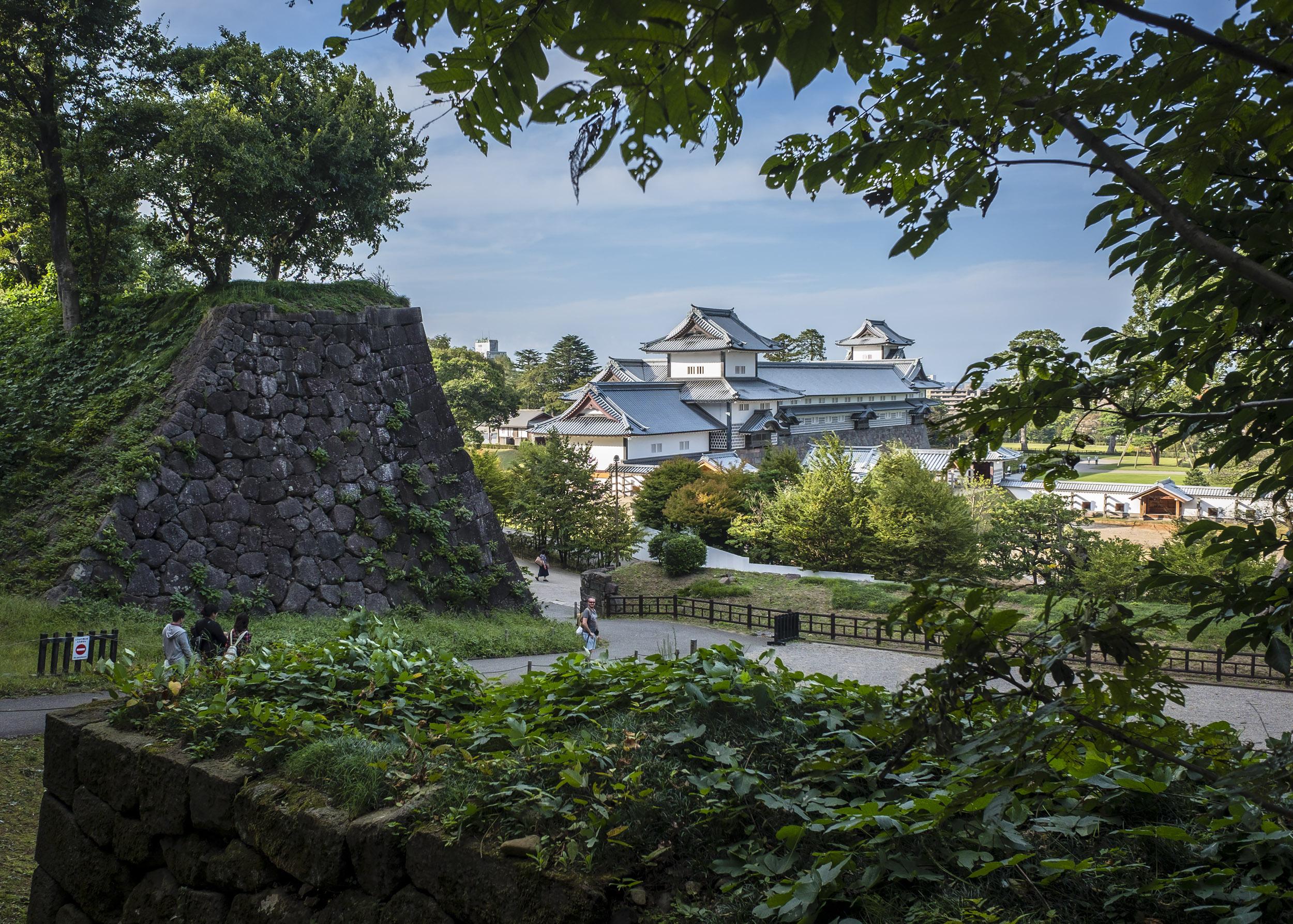 glenn vanderbeke, landschapsfotograaf, reisfotograaf, reisfotografie, japan, kanazawa castle