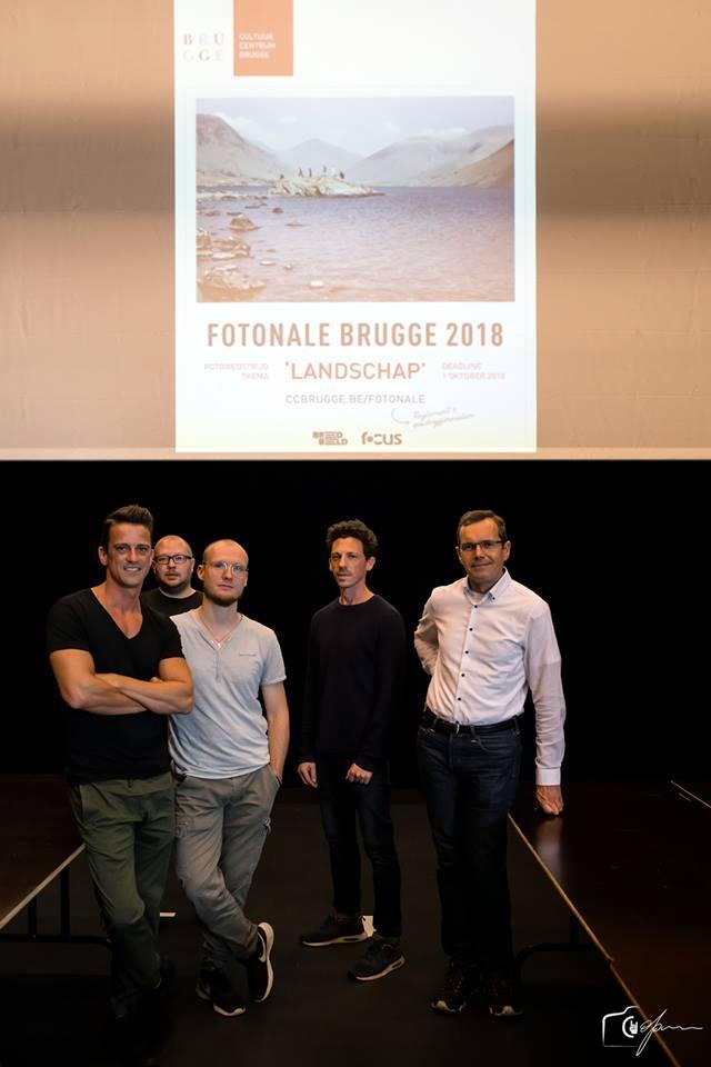 Juryleden, fotowedstrijd, fotonale Brugge 2018, Michel De Pourcq