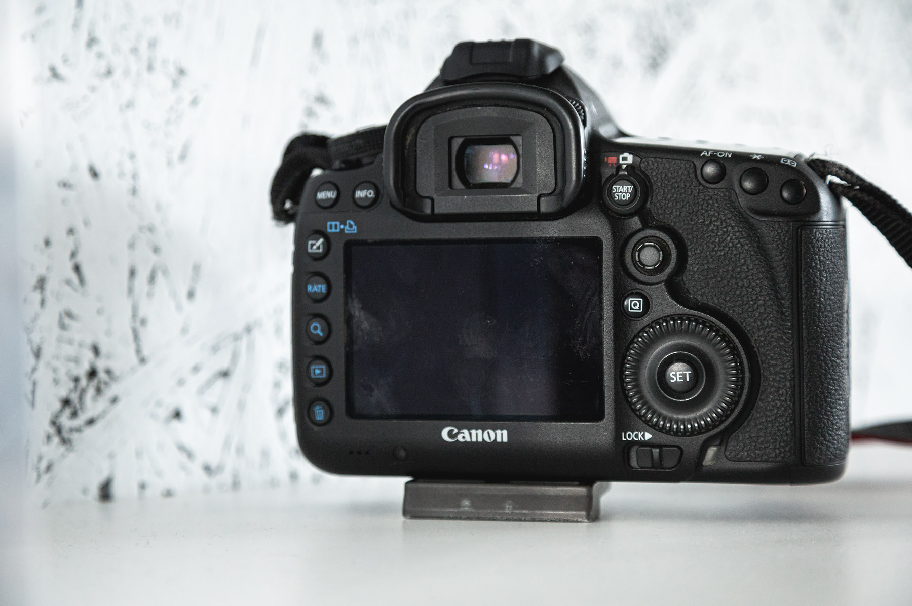 Back view, canon eos 5d markIII, aandachtspunten tweedehands camera