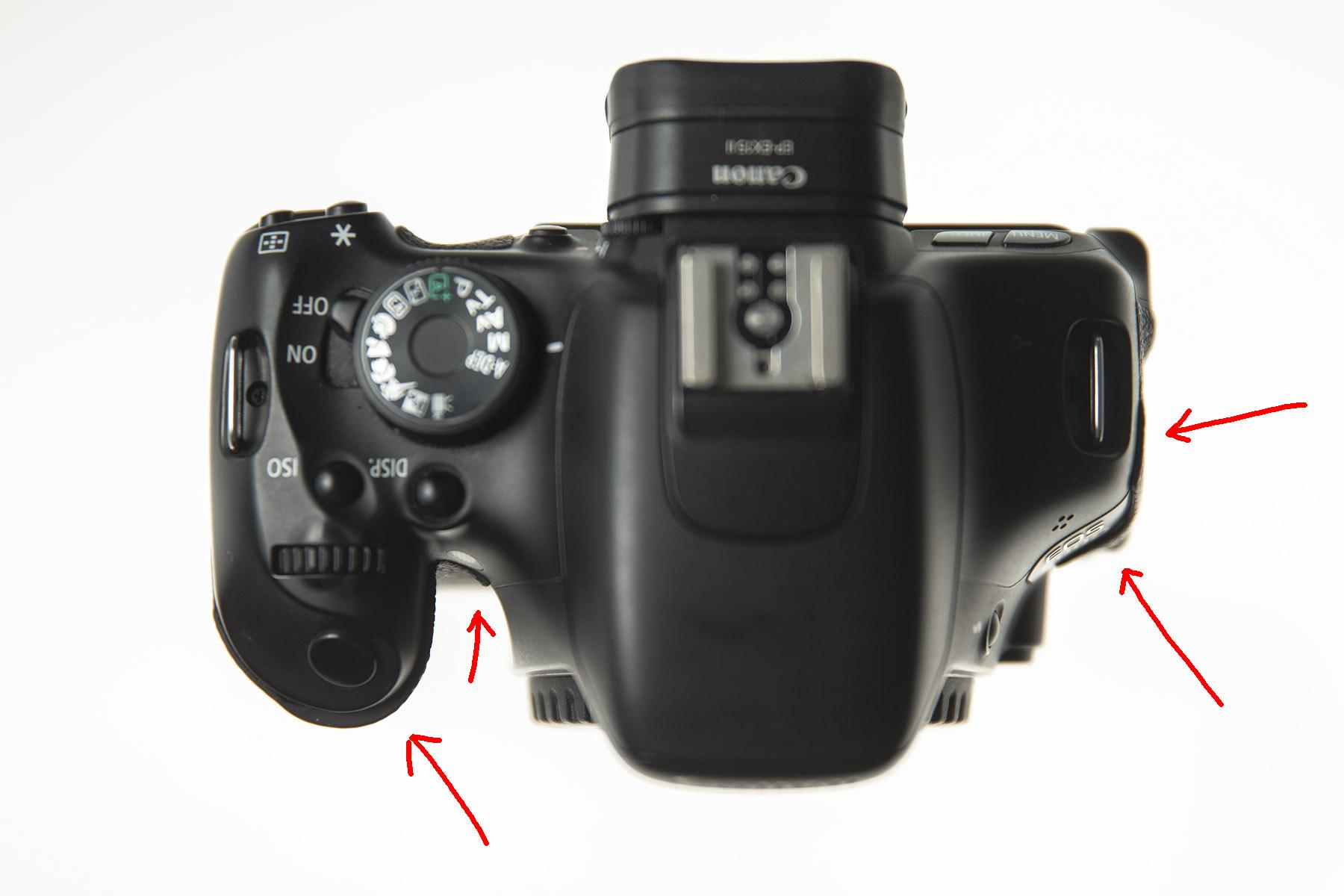 Canon 600d, losse rubbers, aandachtspunten tweedehands camera