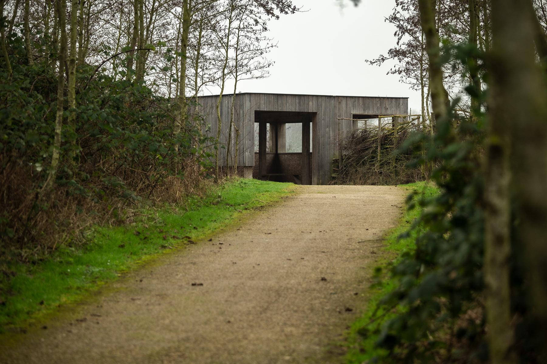 landschapsfotografie, landschapsfotografie in het provinciedomein Zeebos, Kijkhut in het Provinciedomein Zeebos - Blankenberge, West-Vlaams landschapsfotograaf Glenn Vanderbeke