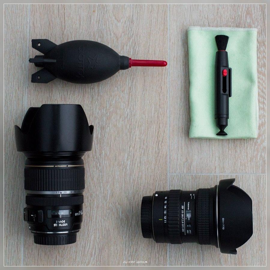 Soigneer je fotografie materiaal