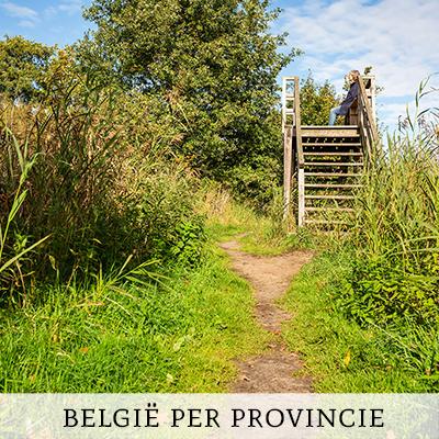 België ontdekken per provincie