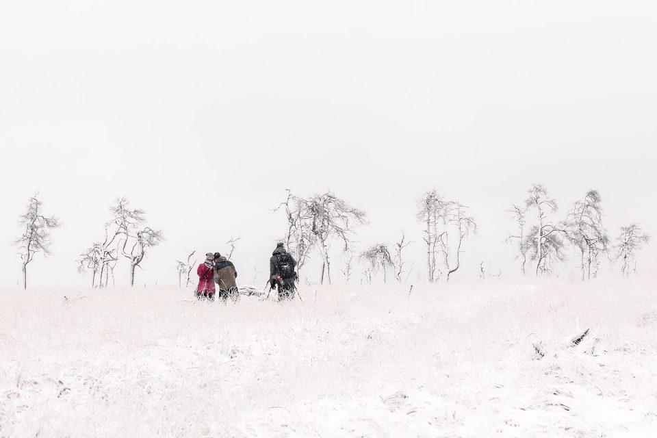 Sneeuwpret in Noir Flohay, Sneeuwlandschappen fotograferen, sneeuwlandschap België, Noir Flohay in de Hoge Venen, Noir Flohay sneeuwlandschap, Noir Flohay fotograferen, Noir Flohay fotografie